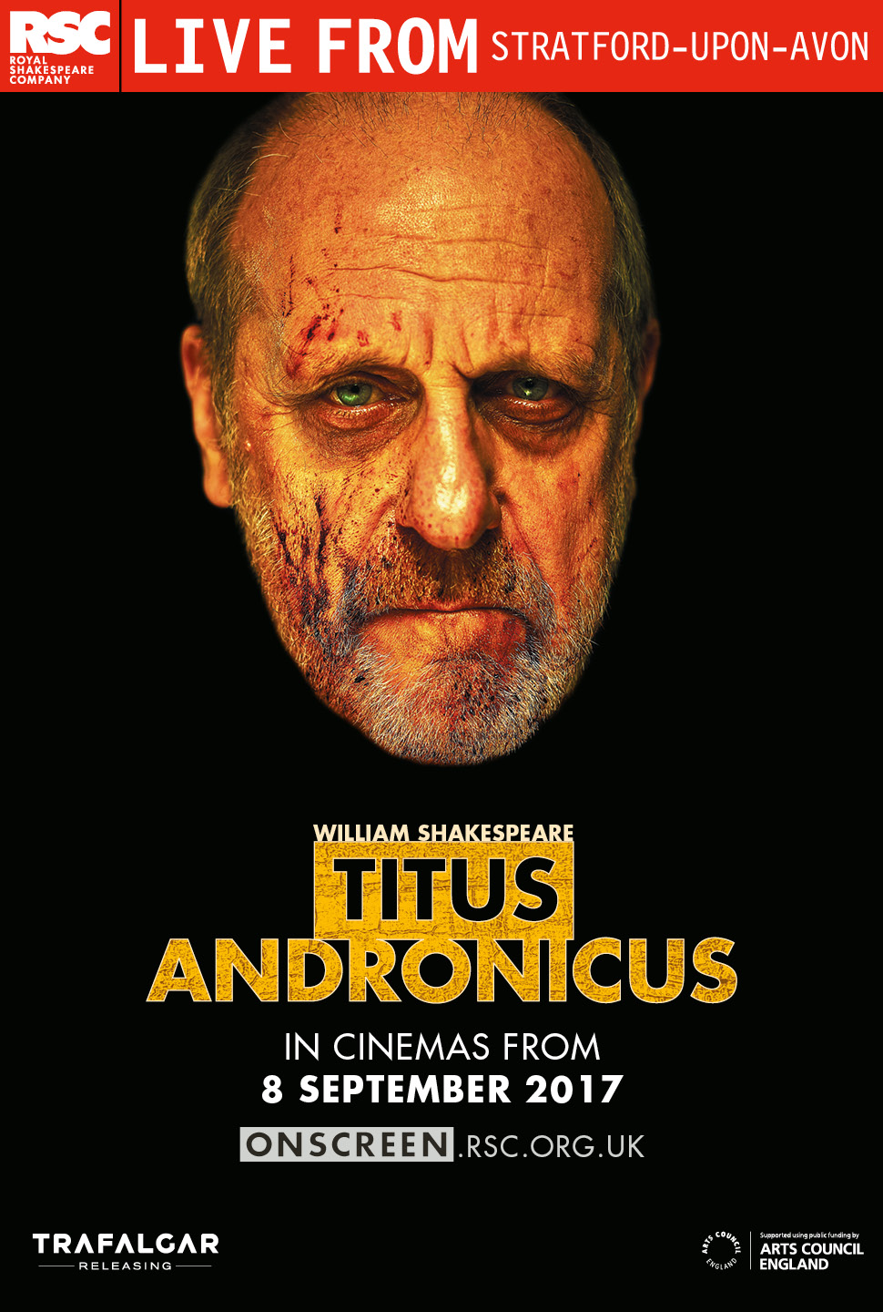 Royal Shakespeare Company: Titus Andronicus Poster